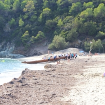 Anlandung Strand von Fetovaia